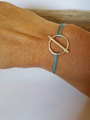 Bracelet cordon femme argent 925/1000