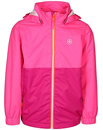 Color Kids Thy, Funktionsjacke Junior Air-Flo 2000, Pink Gio, Gr, 122 -