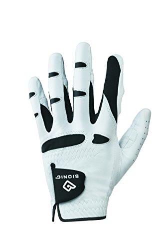 BIONIC Glove - Herren StableGrip Golfhandschuh mit patentierter Natural Fit Technologie aus langlebigem, langlebigem echtem Cabretta-Leder.