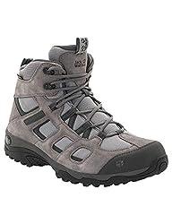 Jack Wolfskin Herren Vojo Hike 2 Texapore MID M Wasserdicht Trekking-& Wanderstiefel, Grau (Tarmac Grey 6011), 48 EU