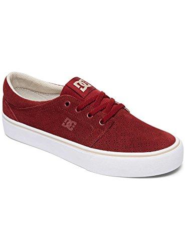 DC Shoes Trase SE - Chaussures pour Femme ADJS300144 Rouge - Burgundy/Tan