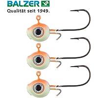 Balzer Shirasu Micro Jig UV Augen Schwarz-Weiß verschiedene zur Auswahl
