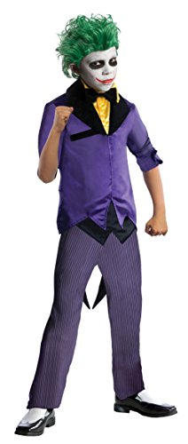 Super Villain Kostüm - DC Comics Super Villains Joker Child Costume Medium