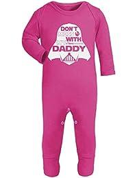 Don t Mess With My Daddy Star Wars fantaisie bébé Grenouillère Body  Combinaison ... be37e8d8e77