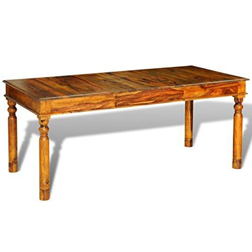 Anself 180 x 85 x 76cm Table Basse de Salon en Palissandre Massif