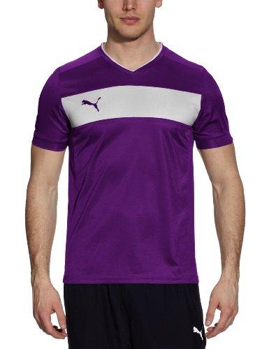 PUMA Herren T-Shirt Powercat 3.12 Team Violet-white