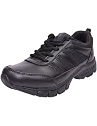 TWIN ww School Shoes TWW-86021 Black Lacing Light Weight Shoes