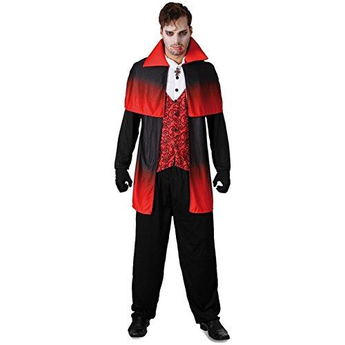 Spassprofi Kostüm Gothic Vampir Größe 50-54 Samt Vampirkostüm - Fürst Kostüme Männer