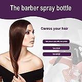 1pcs Plastic Hairdressing Spray Bottle Plant Flower Water Sprayer 250ml Excellent For Hair Stylist Black - B07FL4H6T2