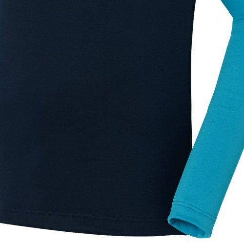Odlo Herren Langarmshirt blau/schwarz