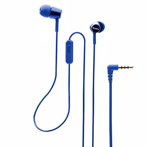Sony MDR-EX150AP In-Ear Headphones with Mic (Darkish Blue) Image 5