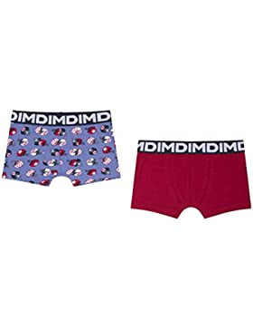 Dim Box Us NYC, Shorts para Niños (Pack de 2)