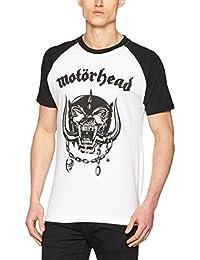 MERCHCODE Jungen Motörhead Everything Louder Raglan Tee 1012_t-Shirt Kurzarm