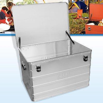 Preisvergleich Produktbild Aluminiumbox B184 mit Zylinderschloss 790 x 560 x 487 mm