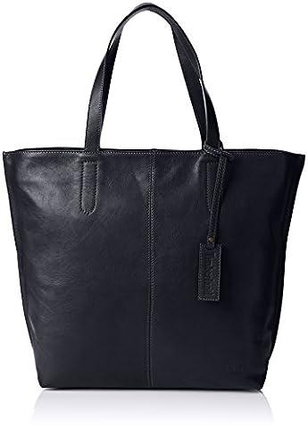 Timberland Tb0a1b2y, Sacs portés épaule femme, Blu (Black Iris), 11x35x47.5 cm (W x H L)