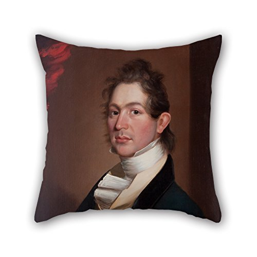 Beautifulseason Oil Painting William Edward West - Thomas R. Fosdick Pillow Cases 20 X 20 Inches / 50 By 50 Cm For Christmas,husband,son,car Seat,christmas,wife With 2 Sides