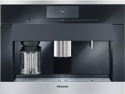 Miele CVA 6805 Integrado Totalmente automática Máquina espresso 2.3L Negro - Cafetera (Integrado, Máquina espresso, 2,3 L, Granos de café, Molinillo integrado, Negro)