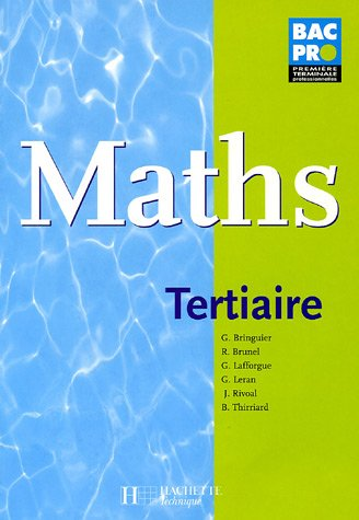 Maths Bac Pro Tertiaire
