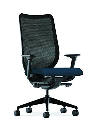 Hon Kern Mesh Aufgabe Stuhl-Knit Mesh Rückseite Computer Stuhl mit verstellbaren Armlehnen, navy (HN1) - Navy Stuhl Computer