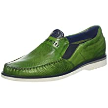 bugatti Men's 311713603535 Loafers, Green (Green/Blue 7040), 9.5 UK