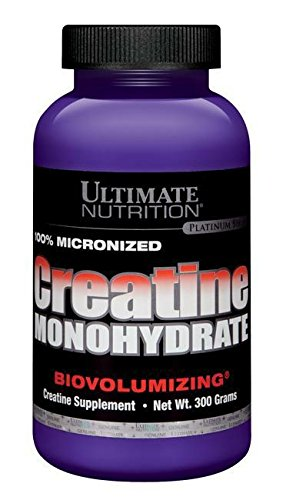 Ultimate Nutrition 100% Micronized Creatine Monohydrate Standard, 300 g