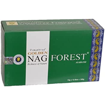 Wohnaccessoires & Deko 180 gms Box of GOLDEN NAG MEDITATION Agarbathi Incense Sticks in stock and shipped by Busy Bits by Golden Nag