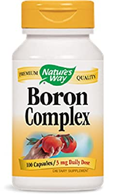 Boron Complex (3mg) 100 Caps - Nature's Way from Nature's Way