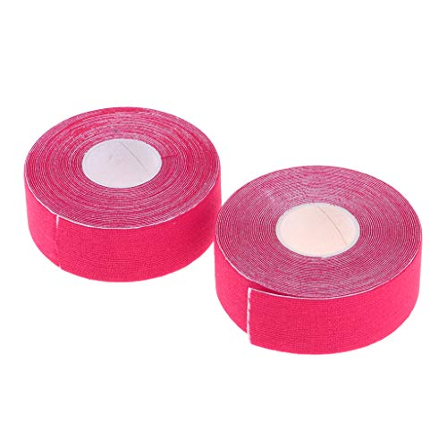 2 Rollen Kinesiologie Tape Kinesiologietape Physiotape Sporttape elastische Bandage - Rosa