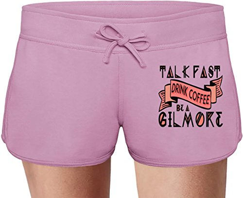 Be A Gilmore Summer Sweat Shorts For Women & Ladies | 80% Cotton-20%Polyester| DTG Printing| Unique & Custom Briefs, Bermudas, Underpants, Slacks & Sports Clothing By Wicked Wicked