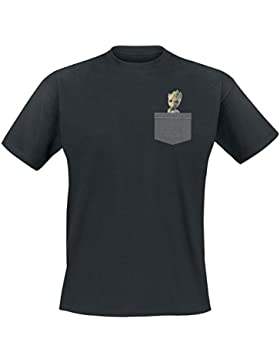 Guardians Of The Galaxy 2 - Groot T-Shirt schwarz