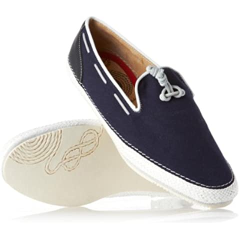 H by Hudson Zapatos Azul Marino/ribete blanco Waldren, hombre, azul marino, 8 UK