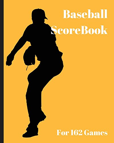 Baseball ScoreBook: 162 games, 8in x 10in, Included most popular stats, Special have matchup Jiugingge: Volume 9 por Mike Murphy