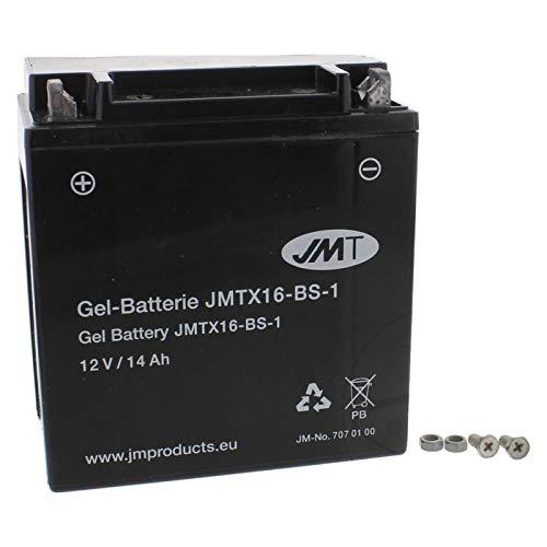 JMT YTX16-BS-1 Gel Batterie VS 1400 GLP Intruder 1987-2003