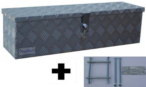 Preisvergleich Produktbild Truckbox D035 + MON2012 Montagesatz, Werkzeugkasten mit Montagesatz, Deichselbox, Transportbox