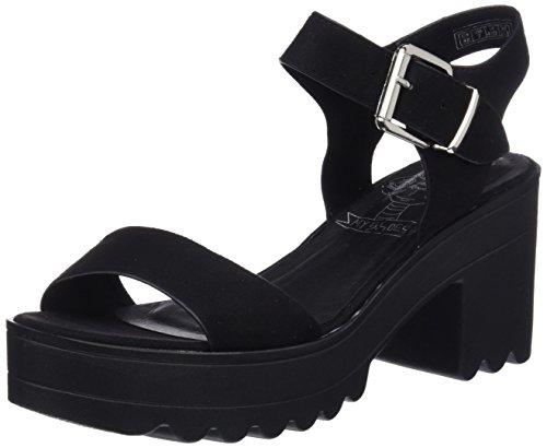 COOLWAY Lana, Zapatos Tacon Correa Tobillo Mujer