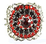 Red Crown Fashion Costume Ring