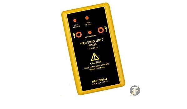 Martindale pd430-50 A 440 VOLT AC UNIVERSALE 2 gamma dimostrando unità