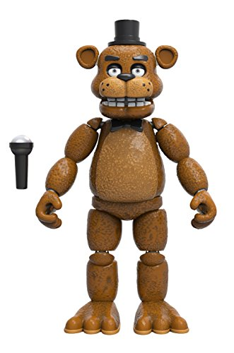 "Funko Five Nights At Freddy's Freddy 5"" Articulated Vinyl Action Figure Toy 8846"