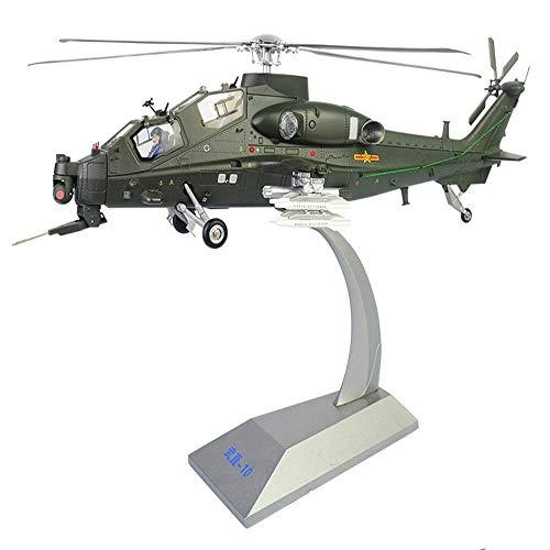 LYXin 1:32 10 hubschraubersimulation fertig Legierung militär Modell Metall Flugzeug Modell Ornamente -