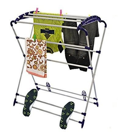 Parasnath Heavy Mini Robot Cloth Drying Stand- (Lifetime Warranty*MADE IN INDIA)