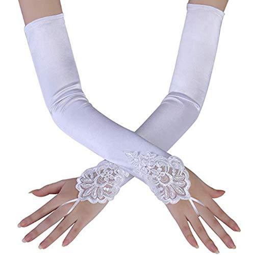 Weiß Oder Elfenbein Hochzeit Kurze Handschuhe Finger Braut Handschuhe Für Frauen Elfenbein Spitze Handschuhe Hochzeit Zubehör Produkte HeißEr Verkauf Hochzeit Zubehör Brauthandschuhe