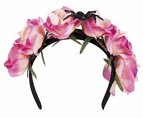 Boland 72142 Haarreif Blumen, One Size
