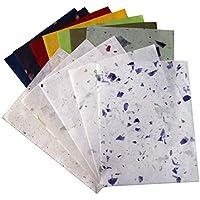 10 hojas de papel pintado con textura de papel pintado para manualidades, diseño de cartulina, color morado