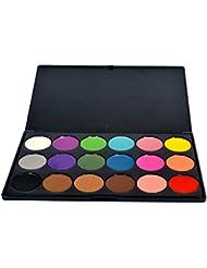 PhantomSky 18 Colores Sombra De Ojos Paleta de Maquillaje Cosmética #1 - Perfecto para Uso Profesional y Diario