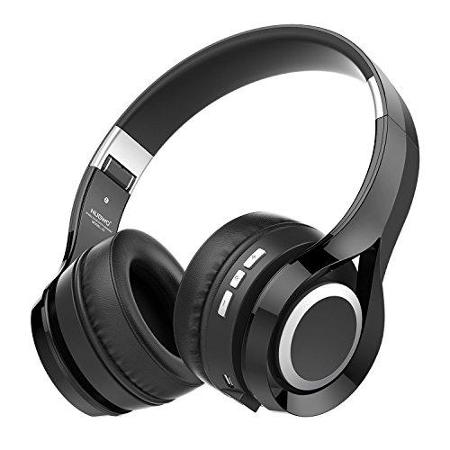 NUBWO S1 Bluetooth 4.1 On-ear Kopfhörer Deep Bass Hi-Fi Faltbares Multifunktionelles Handfree mit Mikrofon für Smartphone/Tablet/PC/Smart TV (Ipod-jugend)