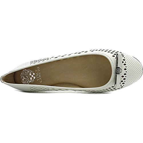 Vince Camuto Celindan Femmes Cuir Chaussure Plate Picket Fence