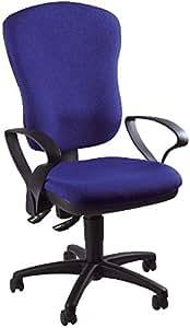 Point 80 chaise de bureau sans accoudoirs-bleu
