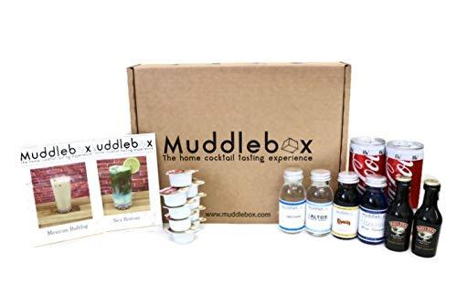 Muddlebox Creamy Cola Lover Sea Bottom Mexican Bulldog Cocktail Box Tasting Ingredient Gift Kit (Makes 4 drinks)