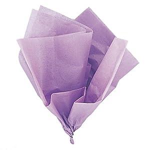 Unique Party- Paquete de 10 hojas de papel de seda, Color lavanda, 6281)