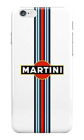Martini Logo iPhone coque en plastique pour Apple iPhone, plastique, Iphone 5 & 5s